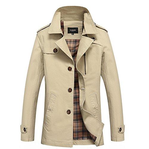 HDYS En el otoño de hombres chaquetas chaqueta larga San Sau más ropa, su tarjeta