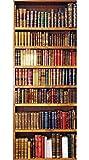 Home Decor Line CR-20315 Bookcase Door Cover Applique, Brown