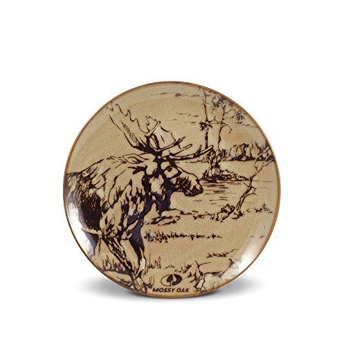 Mossy Oak Animal Print Moose Salad Plate, ()