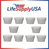 LifeSupplyUSA 10PK Replacement Humidifier Wick Filter C for Holmes HWF65, Sunbeam SF206, Bionaire BWF65, White-Westinghouse WWH650 Review