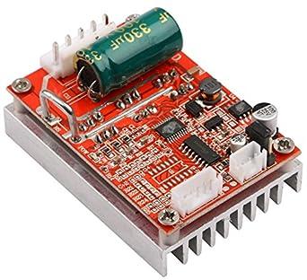 DC Brushless Motor Controller, Yeeco DC 6 72V 450W Brushless