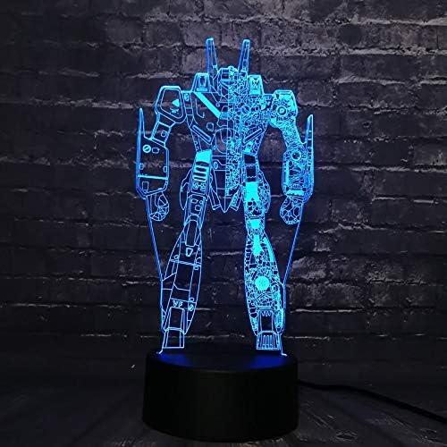 Pacific Rim kaiju CoyoeTago 3D LED luz nocturna Figura de ...