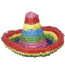 Colorful Sombrero Pinata