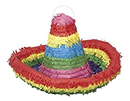 Colorful Sombrero Pinata