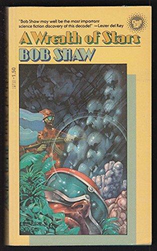 Bob Shaw: A Wreath of Stars 1st pb ed 1978 Rick Sternbach sci-fi cover art