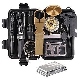 Survival Kit Set, Camping und Reisen – Notfall Set