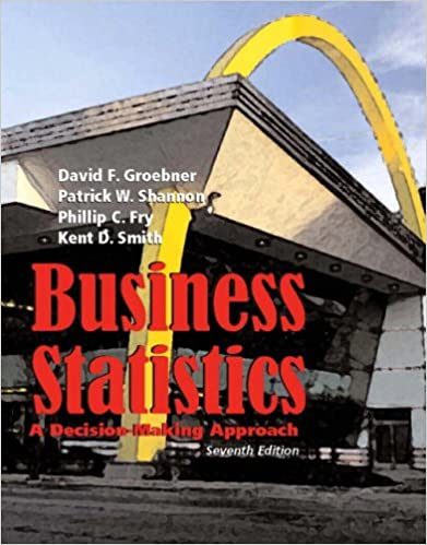 Business statistics a decision making approach 7th edition business statistics a decision making approach 7th edition david f groebner patrick w shannon phillip c fry kent d smith 9780132240017 fandeluxe Image collections