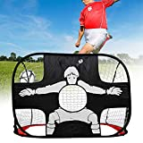 Training Football Goal Net Foldable Simple for Children and Teenagers 110CM