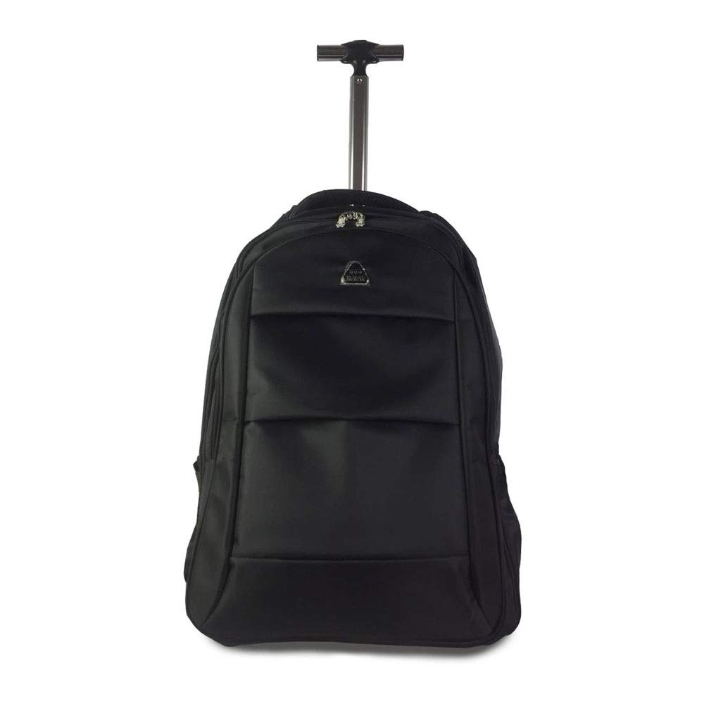 Shoulder Trolley Bag Computer Backpack Business Bag for Men and Women XIANWEI Trolley Backpack Color Optional 19/21 Inch Color : Black, Size : 48x20x30cm