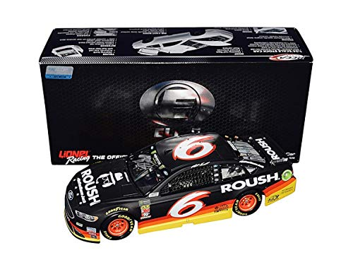 (AUTOGRAPHED 2018 Matt Kenseth #6 Roush Racing ALL-STAR RACE (Substitute Driver) Monster Energy Cup Series Signed Lionel 1/24 Scale RCCA ELITE NASCAR Diecast Car with COA (1 of only 57 produced!))