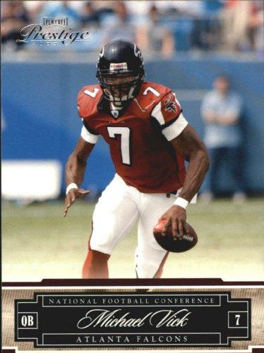2007 Playoff Prestige  6 Michael Vick Card Falcons