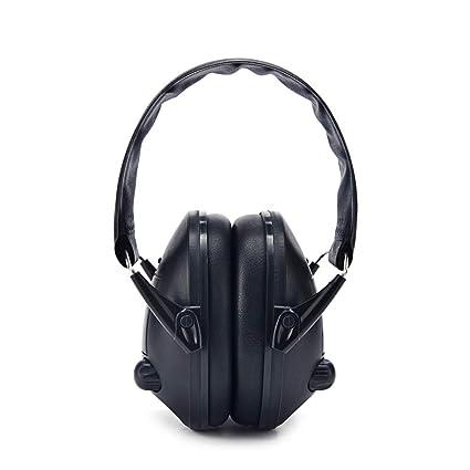 Defensores del oído SNR 25dB Protección contra la reducción de ruido Protección auditiva plegable ajustable Cancelación