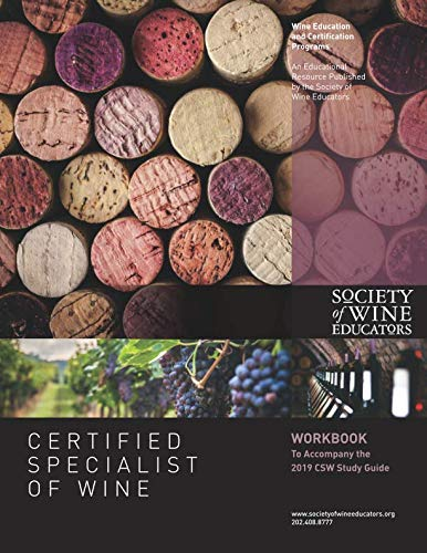 2019 Certified Specialist of Wine Workbook by Jane Nickles