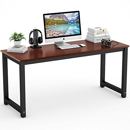 modern writing computer large desk minimalist products langria