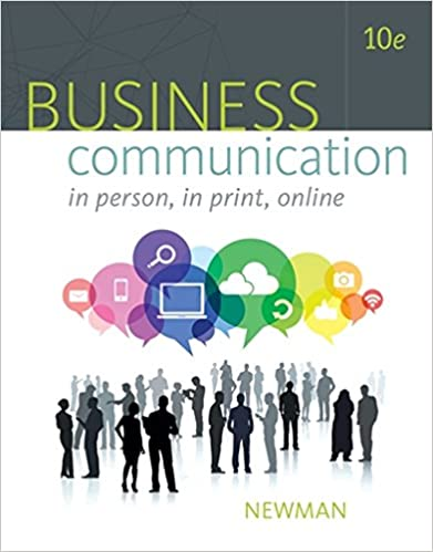 Business communication in person in print online 9781305500648 business communication in person in print online 10th edition fandeluxe Images