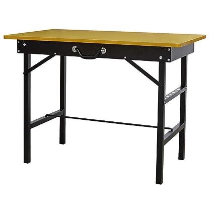Tavoli Da Lavoro Pieghevoli.Sealey Fwb1000 Banco Da Lavoro Pieghevole Portatile 1000 Mm
