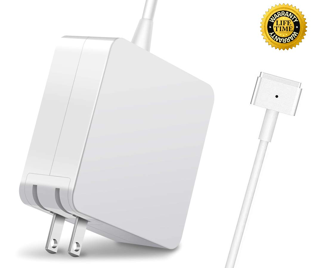 Mac Book Air Charger, 45W T-Tip AC 2 Power Adapter Charger for MacBook Air 11-Inch and 13-Inch (for MacBook Air Released After Mid 2012) by GEDDIE