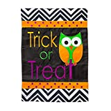Halloween Trick or Treat Owl Applique Garden Flag Review