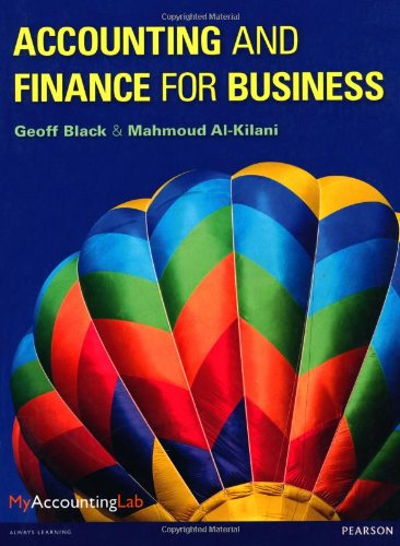 Accounting and Finance for Business with MyAccountingLab access card ebook