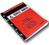 Allis Chalmers B Series B1 B10 Big Ten B110 B112 HB112 Tractors Service Manual