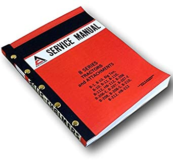 allis chalmers b10 b 10 tractor service manual parts catalog 2 manuals download