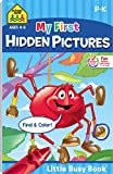 Books : My First Hidden Pictures (Little Busy Book) Ages 4-6