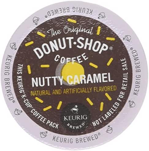 The Original Donut Shop Nutty Caramel - 18 ct