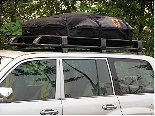 Medium wasserdichte Auto Auto Dach Bag Güter Top Träger Dach Tasche Faltbare durch DHL (130x100x45cm)