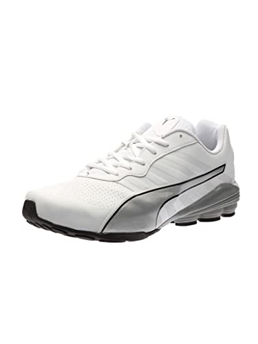 Puma Flume Sl Men's Training Shoes White-Silver-Black V9c3139
