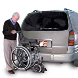 Harmar Mobility Upgraded AL003 Wheelchair Lift Outside Manual Carrier with Hitch Adapter & Wiring Harness