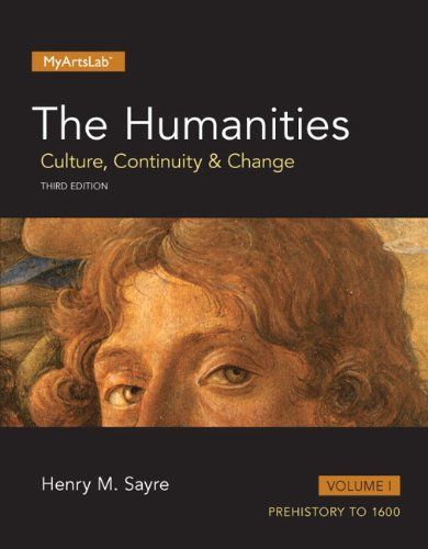 1 (1: Humanities: Culture, Continuity and Change, The, Volume I (3rd Edition))