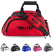 Elite Sports Warrior Boxing MMA BJJ Gear Gym Duffel Backpack Bag