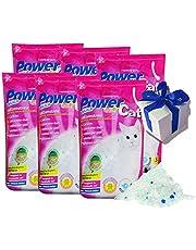 6 x 5 = 30 L Power Cat Magic Silikat Katzenstreu Powercat Streu