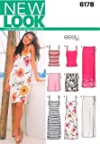 New Look Sewing Pattern 6178 Misses Separates, Size A (8-10-12-14-16-18)