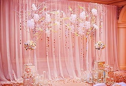 Amazon.com : Laeacco Photography Background 7x5ft Wedding Ceremony ...