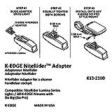 K-Edge NiteRider Light Adapter Gunmetal, One Size