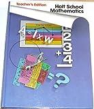 img - for Holt School Mathematics Grade 5 book / textbook / text book