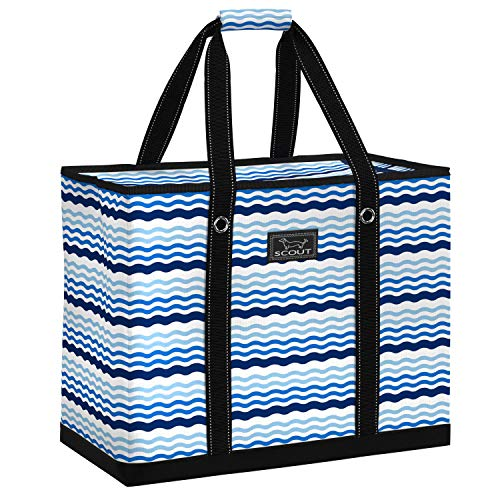 SCOUT 3 GIRLS BAG, Extra Large Tote Bag for Women, Oversized Beach Bag or Pool Bag (Multiple Patterns Available) ()