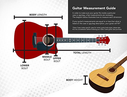 Gator Cases Deluxe ABS Classical Guitar Case (Plastic) by Gator (Image #9)'