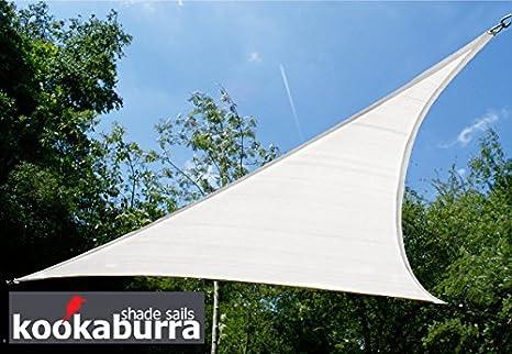 Tenda A Vela Per Terrazzo : Tende a vela kookaburra per feste triangolare m bianco polare