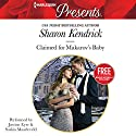 Claimed for Makarov's Baby: Christmas at the Castello Audiobook by Amanda Cinelli, Sharon Kendrick Narrated by Justine Eyre, Saskia Maarleveld