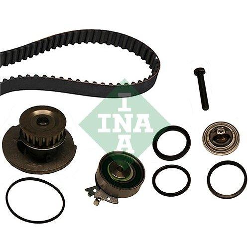 INA 530 0004 30 Bomba de agua + kit correa distribución: Amazon.es: Coche y moto