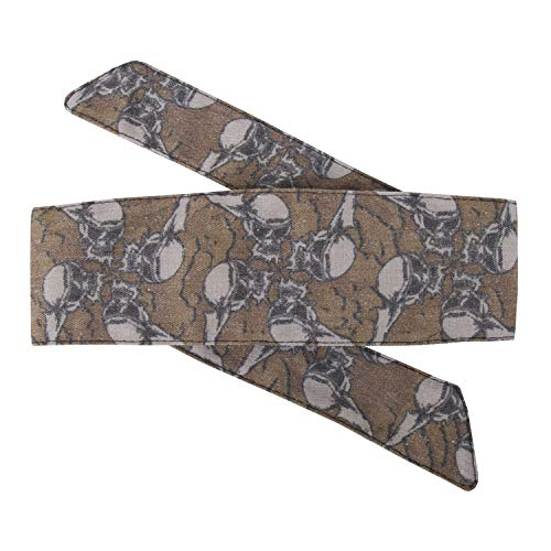 - HK Army Hostilewear Vintage Headband Collection (Skulls Tan)