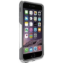 OtterBox COMMUTER iPhone 6 Plus/6s Plus Case - Frustration-Free Packaging - GLACIER (WHITE/GUNMETAL GREY)