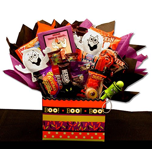 Halloween Candy Gift Boo Mania Candy Bouquet