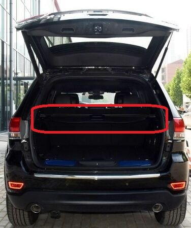 Cargo Cover for 11-17 Jeep Grand Cherokee Trunk Shielding ...