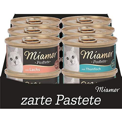 Miamor Pastete Multibox Fisch | 5 x 12 x 85g Katzenfutter nass