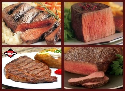 Meat Lovers Combo - Steaks Gift Packages (Meat Package)
