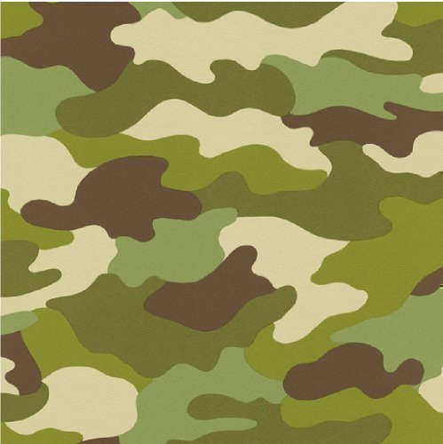 Camouflage Wallpaper Green By Rasch Amazones Bricolaje Y
