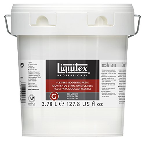 Liquitex Professional Flexible Modeling Paste Medium, 128-oz (gallon)